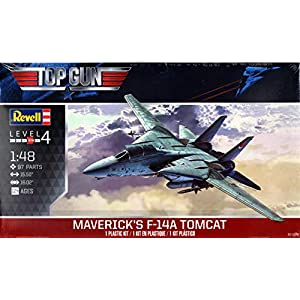 Revell RMX855872 1:48 Maverick's F-14A Tomcat [Top Gun] [Model Building KIT] 9