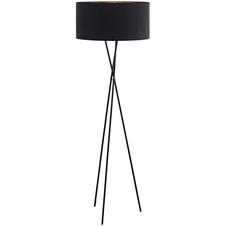 Eglo Fondachelli Lampe E27 schwarz, Kupfer