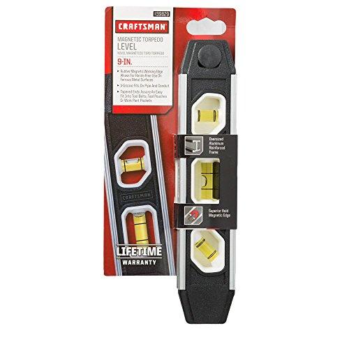 Craftsman Magnetic Torpedo Level 9in 39829