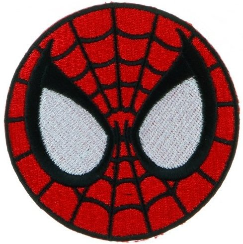 [Velcro Patch : SpiderMan Super Hero] (Diy Ironman Costume)