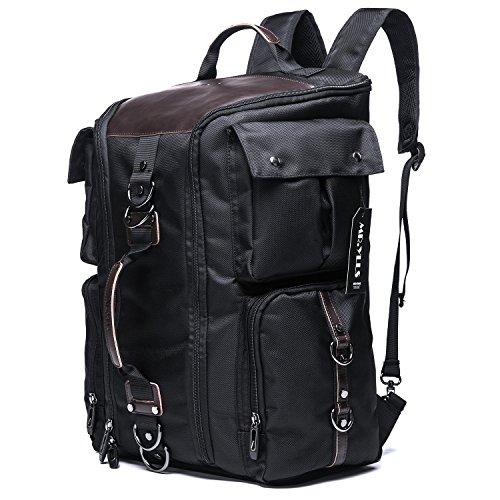 MR.YLLS Large Capacity Luggage Travel Backpack Climbing Camping Hiking Daypacks (Black)