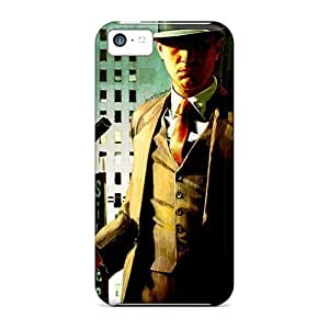 MMZ DIY PHONE CASEDurable Protector Case Cover With La Noire 2 Hot Design For iphone 6 plus 5.5 inch