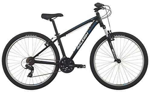 "Raleigh Bikes Eva 2 Women's Mountain Bike, 13"" /Xs Frame, Black, 13"" / X-Small"