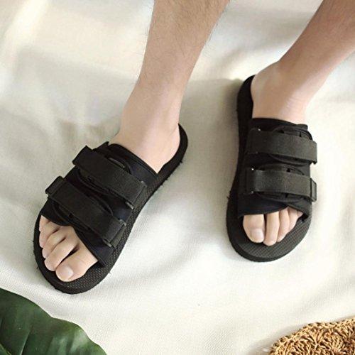 Infradito Moda Uomo Donna Croce Fibbia Scarpe Da Spiaggia Sandali Flat Infradito Pantofola A