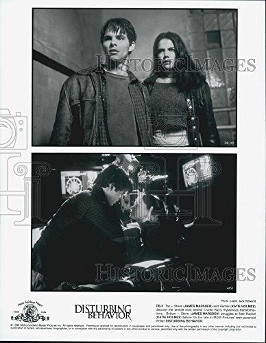 1998 Press Photo James Marsden and Katie Holmes in
