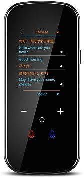TESIYI Translator Device Black Offline Language Translator with Camera Translation