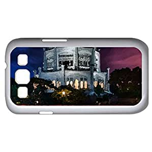 fabulous mosque near highway in long exposure hdr (Religious Series) Watercolor style - Case Cover For Samsung Galaxy S3 i9300 (White)