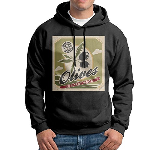 Men Olive You Very Much Fashion Earl Graphic Hoodies - Olivia Fashion Holt