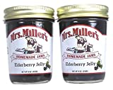 amish made jelly - Mrs Millers Elderberry Jelly (Amish Made) ~ 2 / 9 Oz. Jars