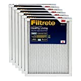 Filtrete 10x20x1, AC Furnace Air Filter, MPR 1900, Healthy Living Ultimate Allergen, 6-Pack