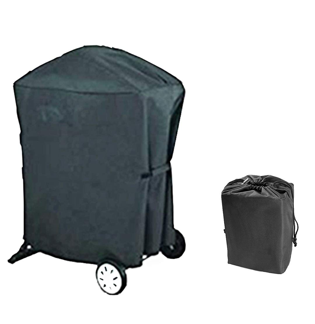 soldbbq Grill Cover for Weber Q 100/1000 and 200/2000 Series (Compatiable with Weber 7113),with 1 Lightweight Portable Bag