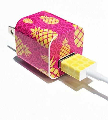 Tech Tattz Pineapple Paradise USB Charger Skin Sticker Wrap