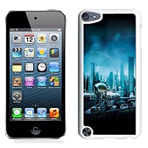 Lovely and Durable Cell Phone Case Design with Gotham City iPod Touch 5 Wallpaper in White