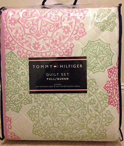 (Tommy Hilfiger Hibiscus Twin Quilt Set)