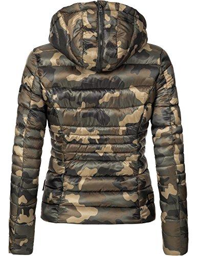 Matelassée Navahoo Camouflage Pour Couleurs saison 11 Veste xxl Xs Mi Dame Lilly xxnrO4PE