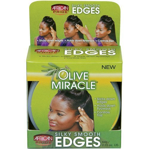African Pride Olive Miracle Silky Smooth Edges by African Pride