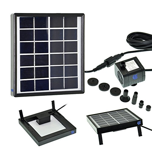 Gbgs 1 5w Outdoor Solar Fountain Pump Waterfall Decorative