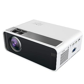 Wendry Proyector, Procesador de Imagen HD Portátil Proyector ...