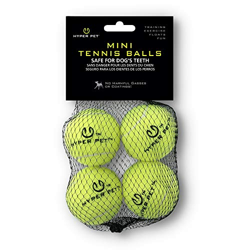 Hyper Pet Tennis Balls For Dogs (Pet Safe Dog Toys for Exercise, Training, Hyper Pet K9 Kannon K2 & Hyper Pet Ball…