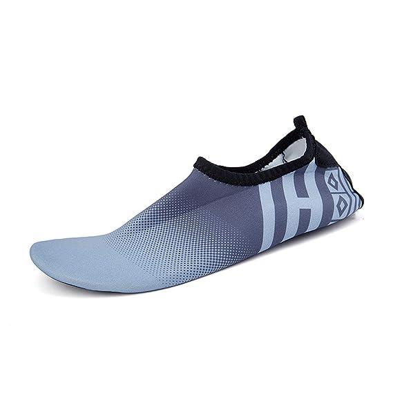 Bestow Zapatos de Buceo Ocasionales Snorkeling natación Yoga para Damas Antideslizantes Deportivos Zapatos Suaves de Playa Calcetines de Yoga sin Cordones: ...