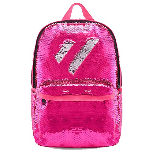 Magic Flip Reversible Sequin Backpack for Girls Glitter Mermaid School Book Bag -