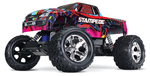 Star All 3 Receiver Channel (Traxxas Stampede 1/10 Scale Monster Truck with TQ 2.4GHz Radio System, Hawaiian)