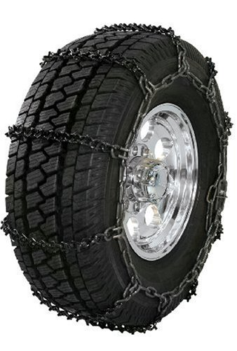 Security Chain Company QG1850 Quik Grip V-Bar Type RP Passenger Vehicle Tire Traction Chain - Set of 2