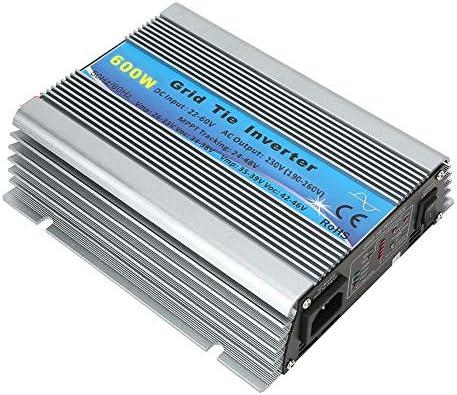 600W Grid Tie Reine Sinuswelle Haushalts Solar Wechselrichter 22-60V DC Zu AC Power(EU-Stecker 220-240V)