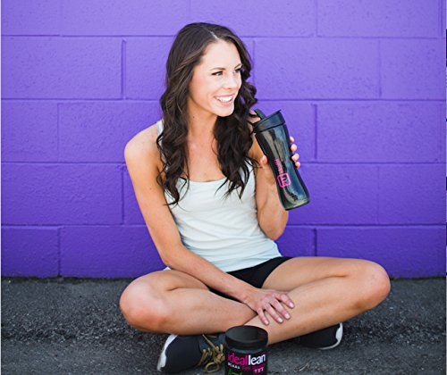 IdealLean, BCAAs For Women, Grape Explosion - Build Lean Muscle Now with  Branched Chain Amino Acid