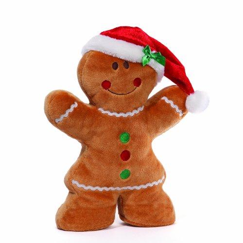 GUND Christmas 'Honey Bun' Girl Plush ()