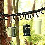 FresKaro 4pcs 12KN Aluminium Wire-Gate Carabiners