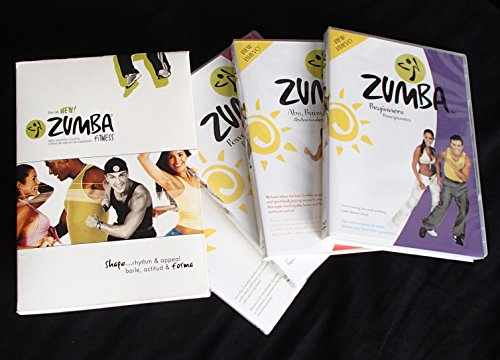 Zumba Hottest Latin Dance Workout (4 Disc Set)