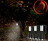 51tNvM1 qjL. SL160  - #1 Rechargeable Solar Flashlight by Knight Lighter for Survival Kit Emergency has Ultra Bright 500 Lumen LED Spotlight and 24 LED Lantern With Solar and AC Rechargeable Lithium Battery for Emergency