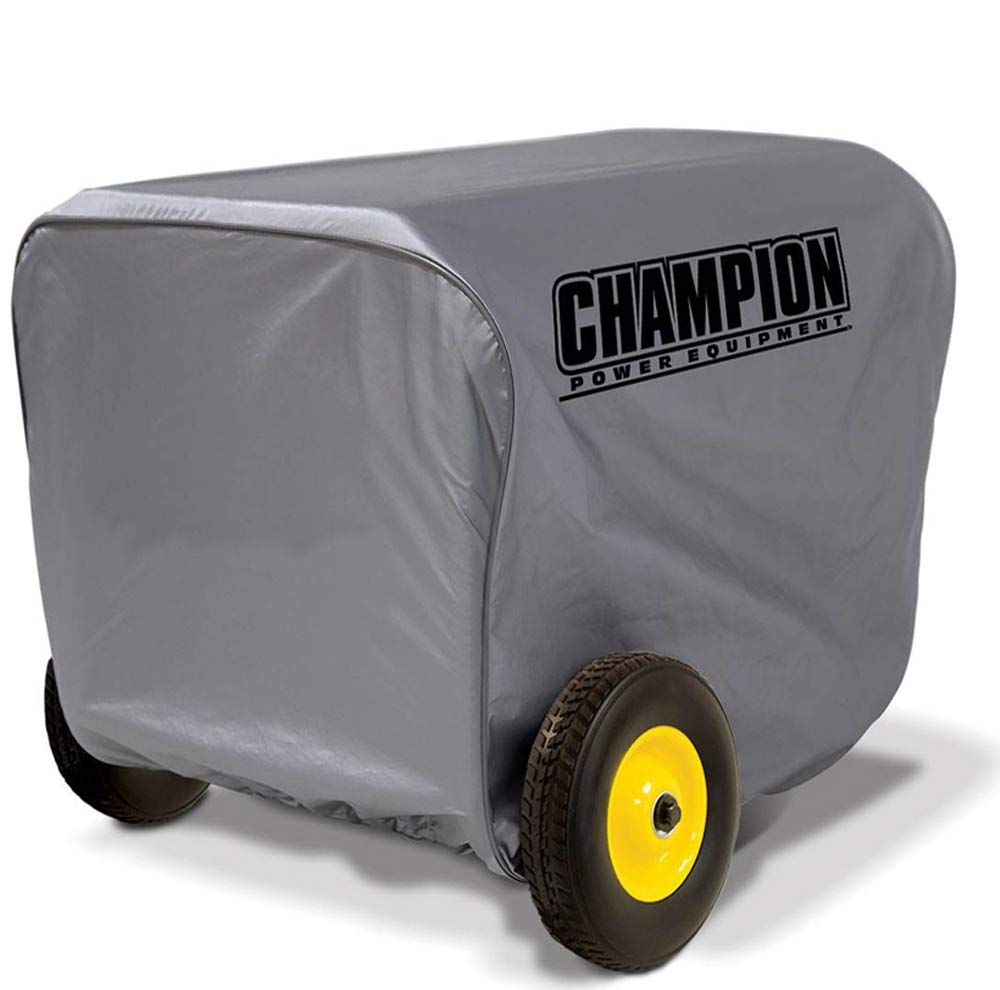 C Power Equip Champion Large Weather-Resistant Protective Generator Storage Cover