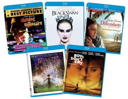 Fox Searchlight Award Winners Bundle (Descendants, Slumdog Millionaire, Beasts of the Southern Wild, Black Swan, and Boys Don't Cry) [Blu-ray]