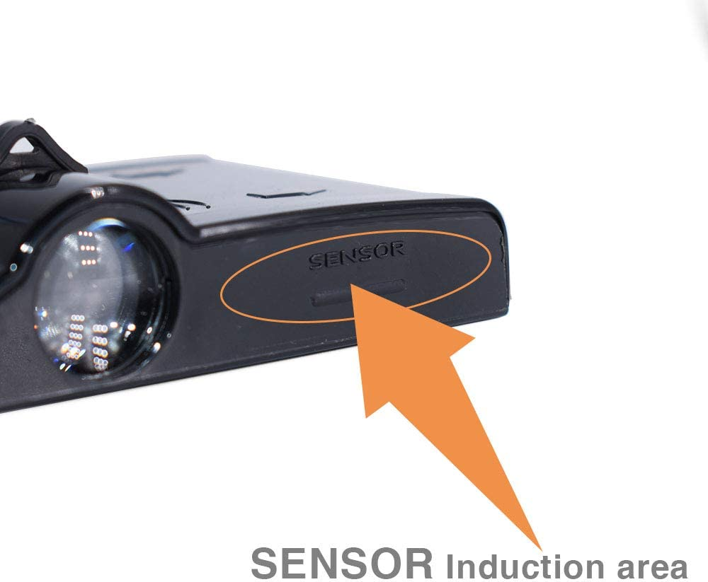 LONGSNOL 2pcs Door Lights Logo Projector for Honda Wireless LED Door Shadow Welcome Courtesy Light Laser Projector Emblems Logo Projector Lamp Universal for Honda