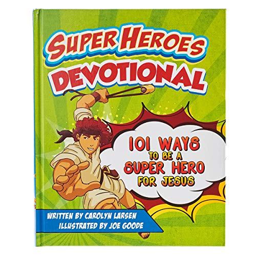 Superheroes Of The Bible (Super Heros Devotional)