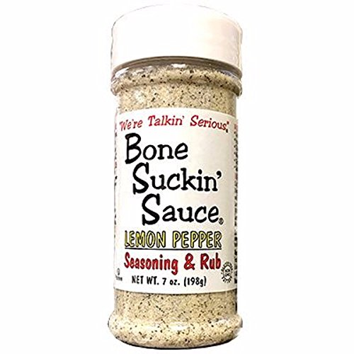 Bone Suckin Rib Rub - Bone Suckin' Seasoning and Rub (Lemon Pepper, Pack Of 1)