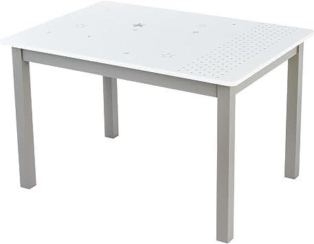 Mesa rectangular de madera para niños: Amazon.es: Electrónica