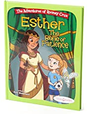 """Bible Stories for Girls, """"The Adventures of Rooney Cruz: Esther The Belle of Patience"""" A Bible Story Book For Kids, Teaching Patience Book Esther Bible Study for Christian Girls"""