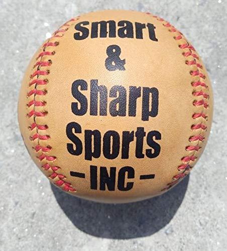 Lemon Peel Baseball (Smart And Sharp Sports 1860,S Leather Lemon Peel Baseball New (Leather Lemon Peel Baseball New, Regular))