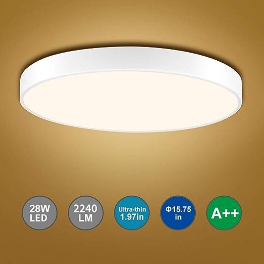 Bellanny LED Deckenlampe, 28W 2240LM LED Deckenleuchte