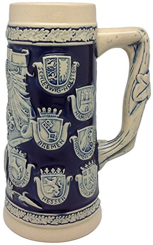 Germany Coats of Arms Collectible Beer Stein