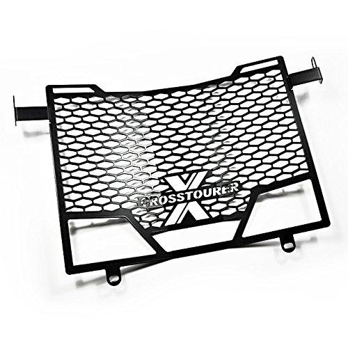 Protection radiateur Honda Crosstourer 12-18 Inox noir Logo MP