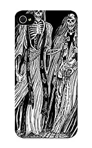 Ideal Inthebeauty Case Cover For Iphone 5/5s(dark Horror Evil Occult Satan Skull Skeleton Art ), Protective Stylish Case