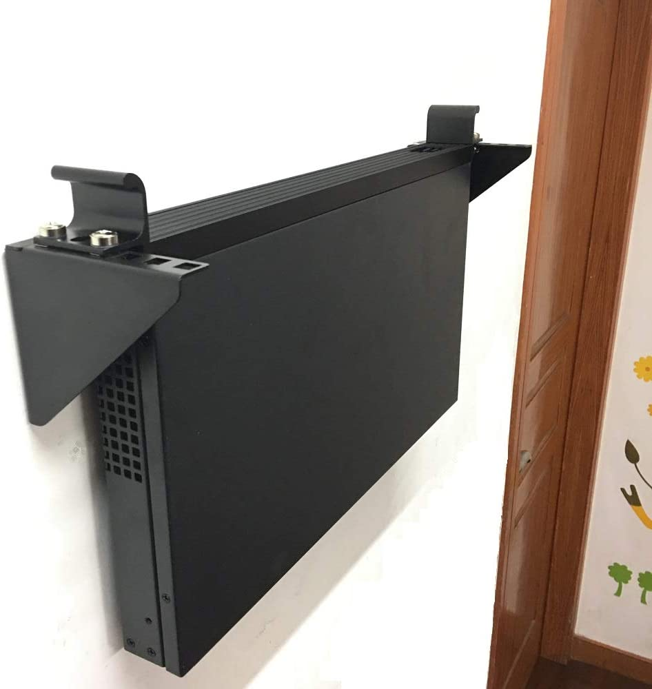 Jingchengmei 1U Lightweight Foldable 19 Inch Steel Vertical Rack and Wall Mountable Server Rack Mount