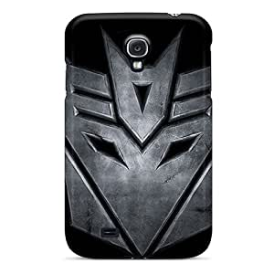 Bumper Hard Cell-phone Cases For Samsung Galaxy S4 With Provide Private Custom Lifelike Decepticons Logo Pattern PamelaSmith