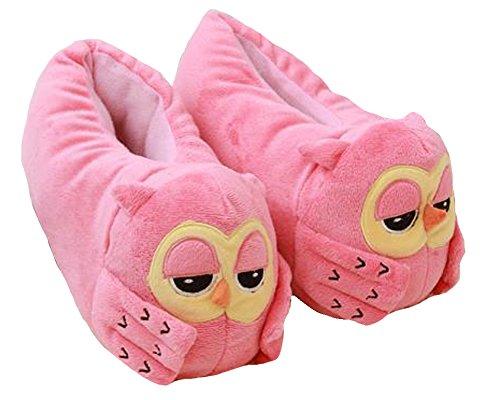 Hw-goederen Damesuil Fluwelen Pantoffels Bootie Roze
