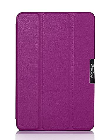 ProCase SlimSnug Case for New Fire HD 7 Tablet (2014 Release, 4th Generation), Slim and light, Hard Shell Cover, with Stand, Exclusive for 2014 Fire HD 7 Tablet (Kindle Fire 7 2014 Charger)