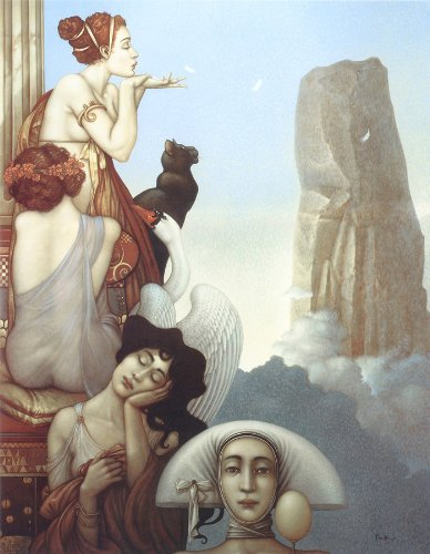 Michael Parkes - Four Feathers NO LONGER IN PRINT - LAST ONES!! ()
